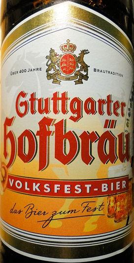 1000 getraenke biertest stuttgarter hofbr u volksfest bier 8 von 10 punkten. Black Bedroom Furniture Sets. Home Design Ideas