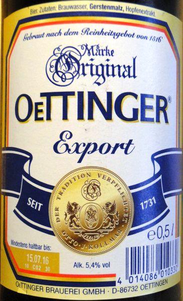 öttinger Export