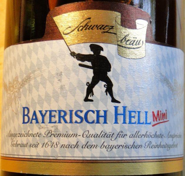1000 Getraenke | Biertest - Schwarzbräu Bayerisch Hell 7 von 10 Punkten