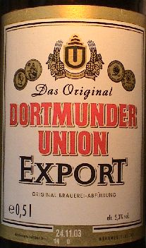 Image result for dortmunder union beer