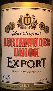 Image result for dortmunder union beer