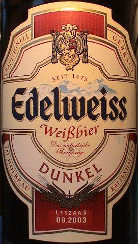 edelweiss weissbier dunkel