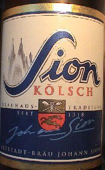 Sion Brauerei Köln